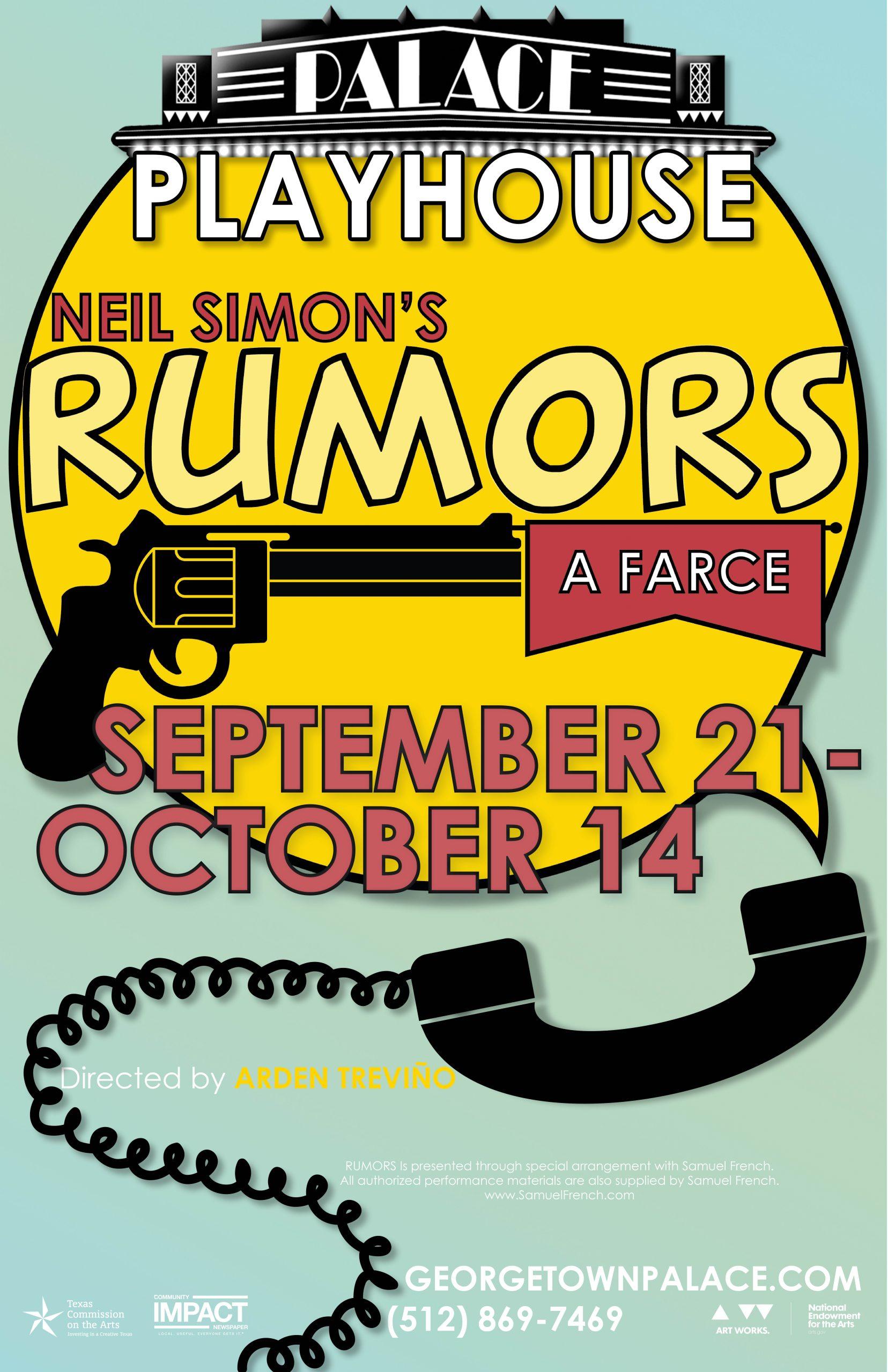 Rumors poster 11x17